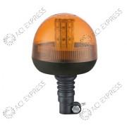 Gyrophare orange LED basic R10 sur hampe