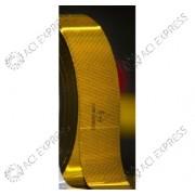 Rouleau de bande de silouhettage jaune ECE 104 45m