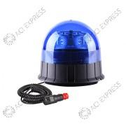 Gyrophare LED BLEU POLICE ACI R65 Magnétique allume cigare