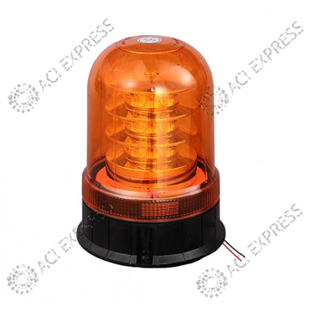 Gyrophare flash camion poids lourd ORANGE LED GAO R65 12/24V