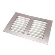 Grille d'aération pour fourgon 100x200mm Aluminium LOUVRE