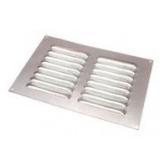 Grille d'aération pour fourgon 150x150mm Aluminium LOUVRE