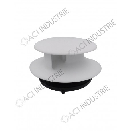 a rateur de toit tournant v hicule flettner tcx 2 blanc. Black Bedroom Furniture Sets. Home Design Ideas