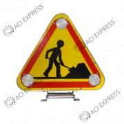 TRIFLASH_MANUEL_500mm_Classe A__véhicule_mairie_signalisation _véhicules de chantier et d'intervention