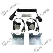 Adaptateur pour semi-remorques pour 2 caméras