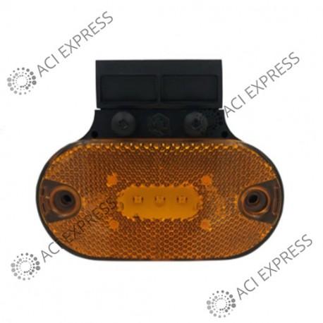 Feu_SM1_à_LED_fixation_arrière + 2 connecteurs_camion_poids_lourds_véhicule utilitaire_camionette