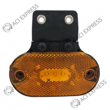 Feu_SM1_à_LED_fixation_droite + 2 connecteurs_camion_poids_lourds_véhicule utilitaire_camionette