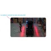 REDLINE lumiere rouge signalisation Fenwick, Unicarriers, Jungheinrich chariot élévateurs
